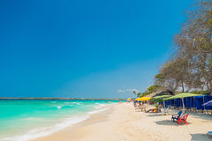 Beautiful Playa Blanca or White beach close to Royalty Free Stock Image
