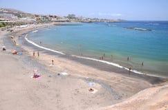 Beautiful Playa de Fanabe in Costa Adeje auf Teneriffa Lizenzfreies Stockbild
