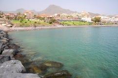 Beautiful Playa de Fanabe in Costa Adeje auf Teneriffa Stockbild