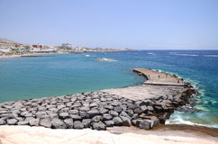 Free Beautiful Playa De Fanabe In Costa Adeje On Tenerife Royalty Free Stock Image - 58183696