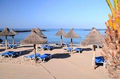 Beautiful Playa del Camison in Playa de las Americas on Tenerife Stock Photo