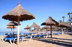 Beautiful Playa del Camison in Playa de las Americas on Tenerife Stock Photos