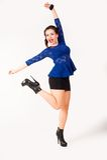 Young playful woman Royalty Free Stock Photos