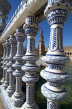 Beautiful Plaza de塞维利亚Espanaa  免版税图库摄影