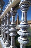 Beautiful Plaza de España de Sevilla fotografía de archivo libre de regalías