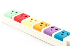 Beautiful plugs colorful. Stock Photos