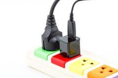 Beautiful plugs colorful. Royalty Free Stock Photos