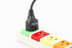 Beautiful plugs colorful. Royalty Free Stock Image