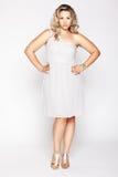 Beautiful plus size woman Stock Image