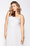 Beautiful plus size woman Royalty Free Stock Photos