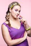 Beautiful plus size woman Royalty Free Stock Photography