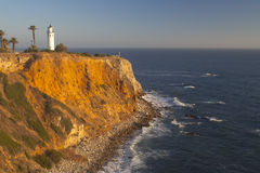 Beautiful Point Vicente Lighthouse Stock Image