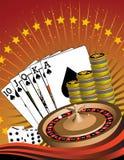 Beautiful Poker Themed Image! Stock Photos