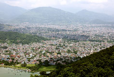 Beautiful Pokhara city Royalty Free Stock Image