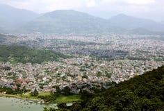 Beautiful Pokhara city Royalty Free Stock Image