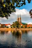 Beautiful Polish atmosphere, city of Wroclaw Stock Photo