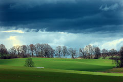 Beautiful Polish landscape Royalty Free Stock Photos