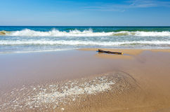 Beautiful Polish sea beach Stock Image