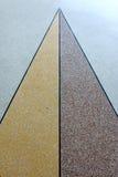 Beautiful polished stone. Beautiful color polished stone floor Stock Images