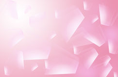 Beautiful polygon pink color Royalty Free Stock Photography