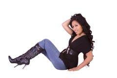 Beautiful Polyneasian Girl Stock Photo
