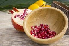 Beautiful Pomegranate Stock Photo