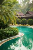 Beautiful Pool in Asia stock images