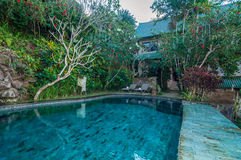 Beautiful pool outdoor Royalty Free Stock Photo