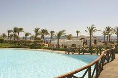 Beautiful pool view Royalty Free Stock Image