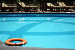 Beautiful Poolside Stock Photography