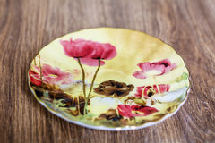 Beautiful porcelain plate Stock Image