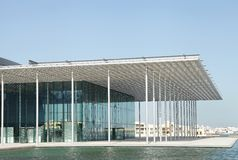 The beautiful porch of Bahrain National Theater Stock Photography