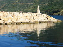 Beautiful Port. The port at Pomos village, Cyprus royalty free stock photography