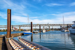 Beautiful Portland Marina Stock Photography