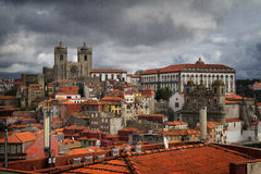 Beautiful Porto. Shot at the central district of Porto, Portugal Stock Image