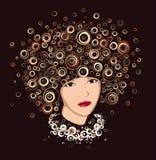 Beautiful Portrait. Stock Images