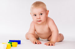 Beautiful portrait of a baby Stock Photo