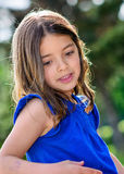 Beautiful portrait of cute child Royalty Free Stock Photos