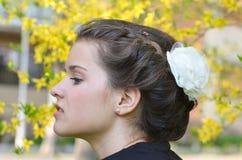 Beautiful portrait royalty free stock photography