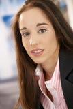 beautiful portrait woman Royaltyfria Bilder