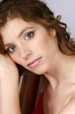 beautiful portrait woman Royaltyfri Fotografi