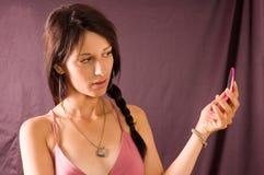 Beautiful portrait woman Stock Photo