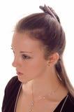 Beautiful portrait woman Stock Image