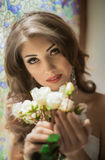 beautiful portrait woman Royaltyfria Foton