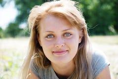 beautiful portrait woman young Arkivfoto