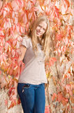 Beautiful posing teen girl Royalty Free Stock Photo