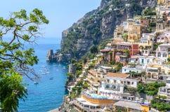 Beautiful Positano Stock Photography