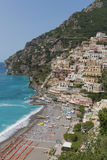 The beautiful Positano Royalty Free Stock Photo