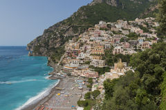 The beautiful Positano Stock Photography