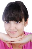 Beautiful positive girl Royalty Free Stock Photography